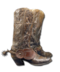 C093 Coyboys clothes i02 Boots with spurs