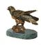 C333 Bronze statuettes i03 Bronze falcon