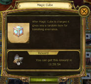 Magic Cue Information window normal