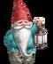 C234 Garden gnomes i01 Gnome flashlight
