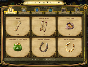 Inventory-Talismans