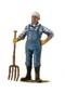 C426 Happy farmer i06 Farmer figurine