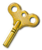 Gold Winding Key