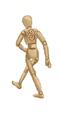C371 Wooden marionettes i05 Walking marionette