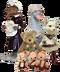 C122 Fairy tale Animals i06 Set fairy tale animals