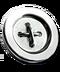 C272 Elegant buttons i04 Silver