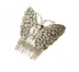 C492 Lost jewelry i04 Butterfly comb