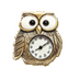 C483 Golden masterpieces i05 Owl clock