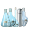 C155 Laboratory beakers i06 Set beakers