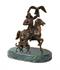 C333 Bronze statuettes i06 Bronze hunter