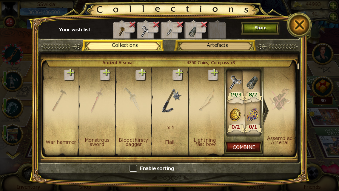 List of Collection Item Locations | The Secret Society - Hidden
