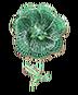 C595 Treasures of the marids i01 Emerald flower
