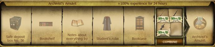 A31 Archivist's Amulet
