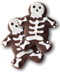 C261 Halloween snacks i04 Skeleton cookies