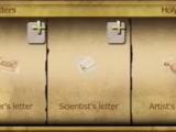 Strange letters