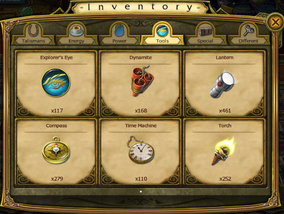 Tools in Inventory 6