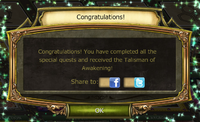 Hanami Festival Quest Completion Notification