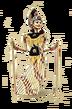 C605 Wonderful dolls i03 Rod puppet