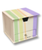 C187 Varicolored sticky notes i06 Container sticky notes