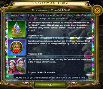 Christmas2016 Timed Challenges