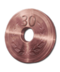 Bronze weight disc