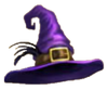 Halloween Masquerade Ball Witch's Hat