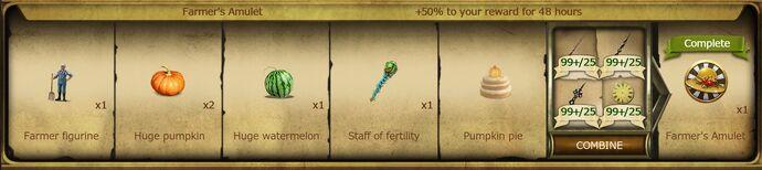 A13 Farmer's Amulet