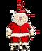 C279 Gingerbread Ornaments i05 Santa