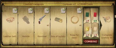 Collection 095 Cowboys weapons cropped
