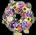 C610 Magic of flowers i06 Flower wreath