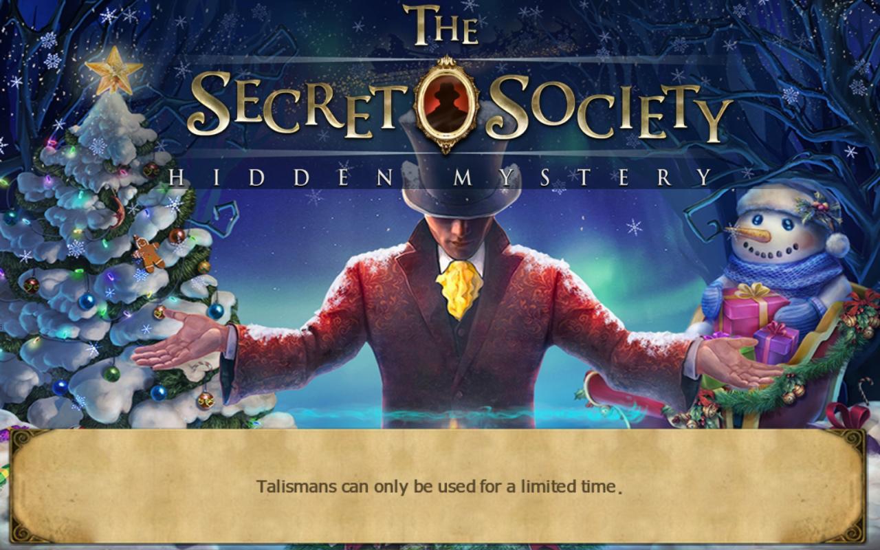 Christmas 2015 Update | The Secret Society - Hidden Mystery Wiki