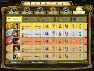Secret society game friends