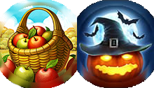 Harvest Halloween Combined Icon