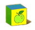 C570 Toy blocks i01 Apple block
