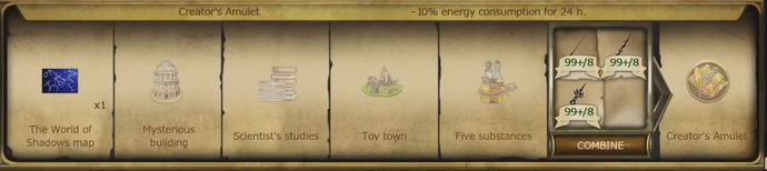 A30 Creator's Amulet