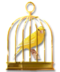 C019 Birds Paradise i06 Canary Cage