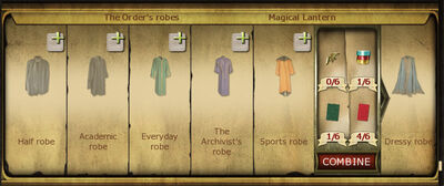 Collection 256 The orders robes cropped