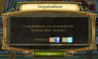 Spring 2016 quest talisman complete notification