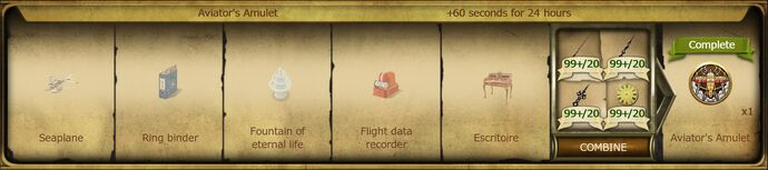 A20 Aviator's Amulet