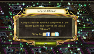 Halloween Masquerade Ball Quest Complete Notification