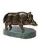 C333 Bronze statuettes i02 Bronze boar