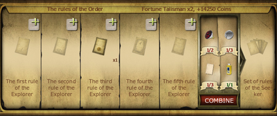 Collection 074 The rules of the order new