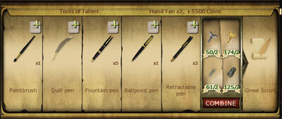 Collection 021 Tools of Talent cropped