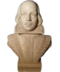C127 Geniuses of poetry i06 Bust William Shakespeare