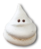 C261 Halloween snacks i01 Ghost meringue