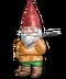 C234 Garden gnomes i03 Gnome rake