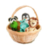 C474 Marzipan dainties i06 Dainties in a basket