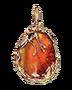 C595 Treasures of the marids i04 Amber pendant