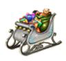 C468 Christmas sleigh i06 Christmas sleigh