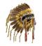 C135 Great chieftain i01 Eagle feather headdress